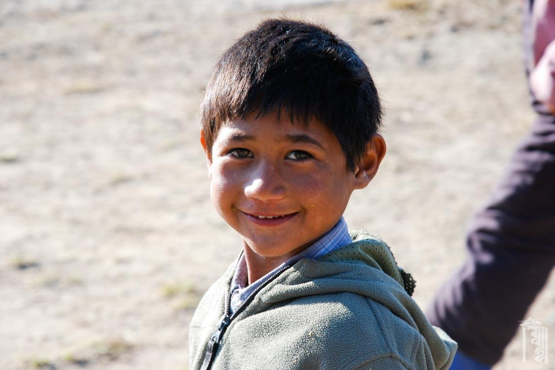 Sanjay, enjoys being the center of attention in his big Jhamtse family.