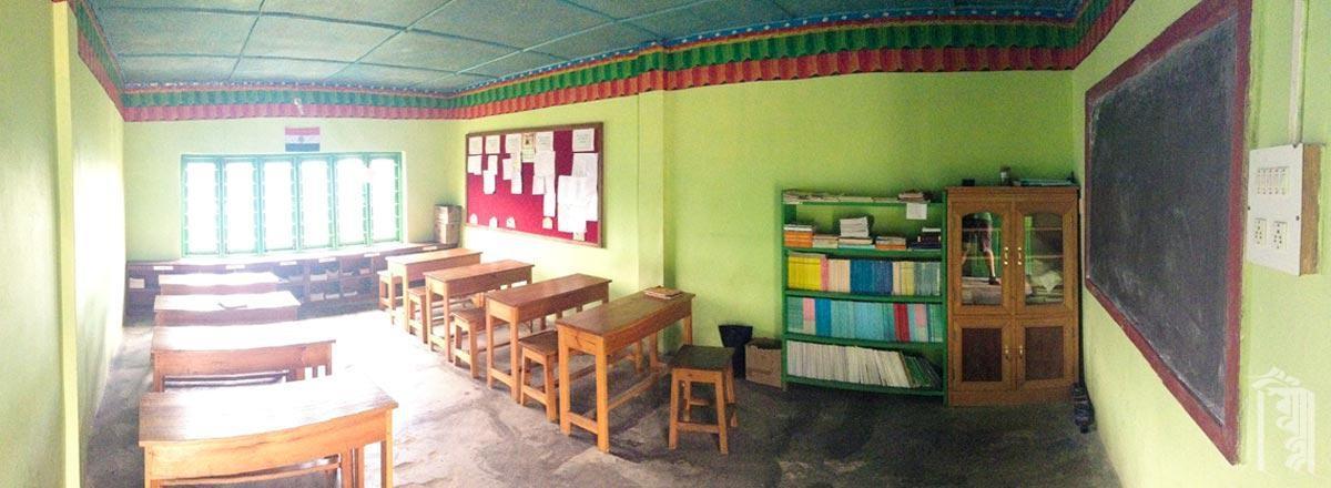 Die Schüler halten ihre Klassenzimmer sauber und bereit zum Lernen.