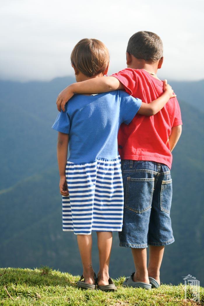 Im Jhamtse Gatsal gibt es immer einen Freund, mit dem man reden kann.