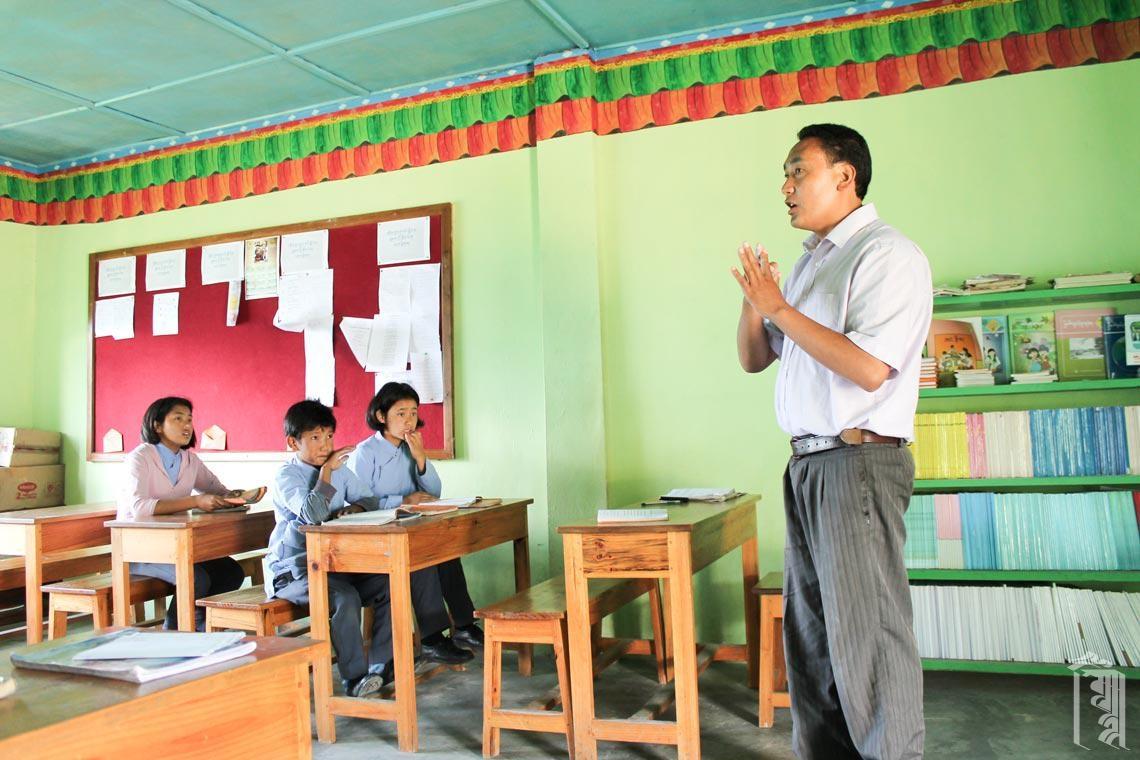 Der Bhoti Unterricht