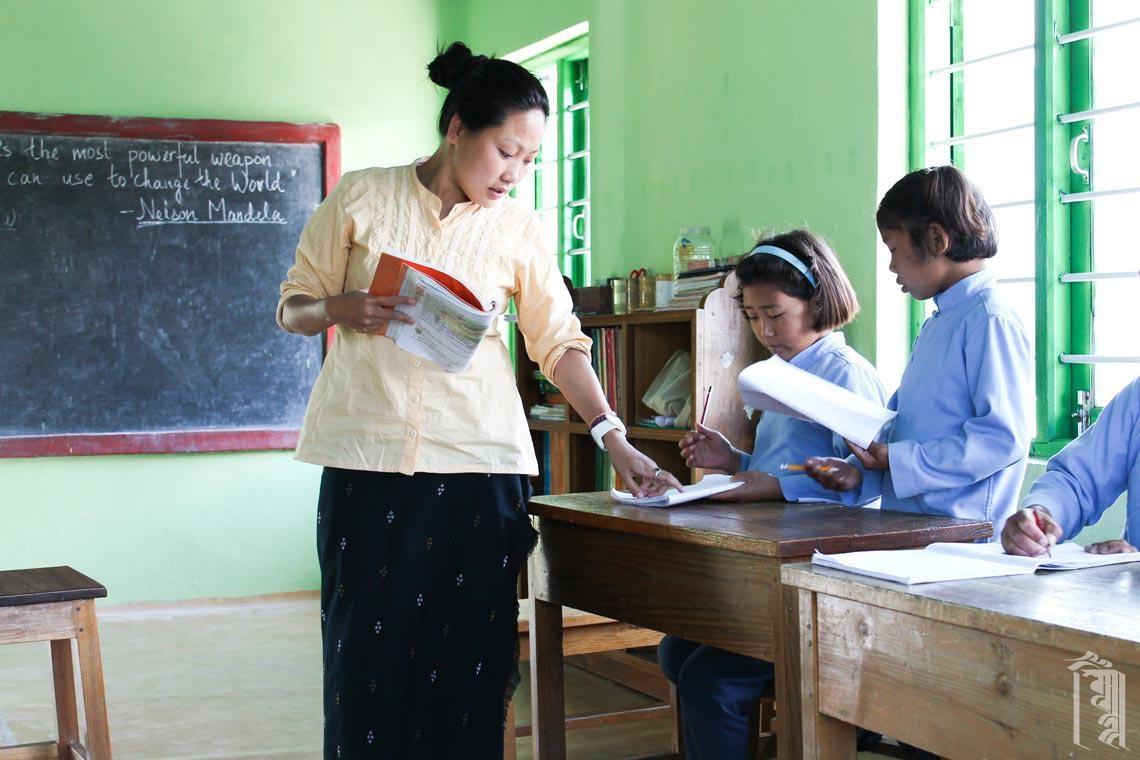 Sozialstudienlehrerin